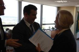 Reunião com o diretor-geral da Polícia Federal, Leandro Daiello Coimbra (18.08.2015)