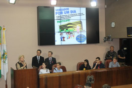 Visita à Prefeitura e à Câmara de Vereadores de Caxias do Sul