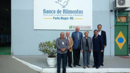 Visita ao Banco de Alimentos do RS