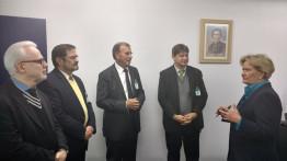 Encontro com a Direção Executiva do Hospital São Lucas – PUCRS (20.05.2016)