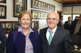 Ana Amélia reafirma posição contra lista fechada e anistia ao Caixa 2 em palestra a empreendedores em Caxias do Sul