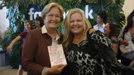 Mulheres líderes e empreendedoras participam de evento do Facebook com a presença da senadora