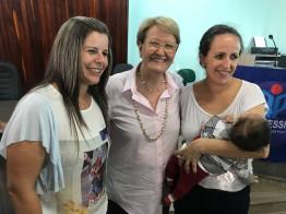 Em Jacutinga, Ana Amélia participa de reunião com lideranças e com a comunidade