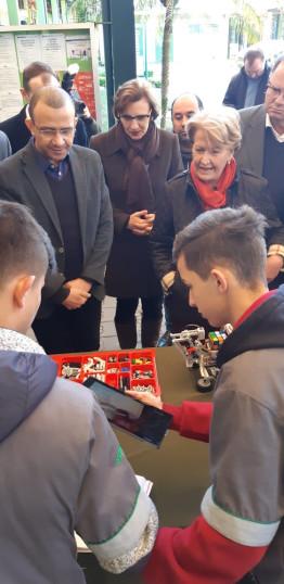 Gravataí - Visita a Escola do SENAI Ney Damasceno Ferreira