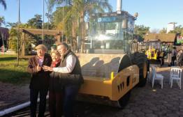 Esteio - Entrega de máquinas agrícolas
