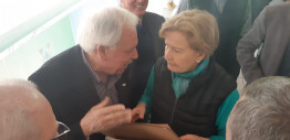 Em São Borja, Ana Amélia visita a Prefeitura e o Hospital Ivan Goulart
