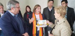 Ana Amélia conversa com empreendedores e estudantes e recebe demandas em Montenegro