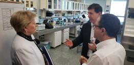 Ana Amélia visita maior centro de pesquisa em cardiopneumologia da América Latina
