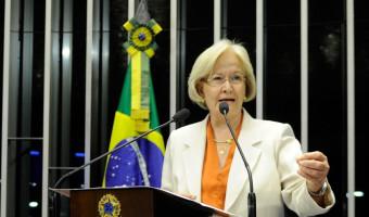Sanção presidencial ao aumento de recursos para o fundo partidário é criticada pela senadora Ana Amélia