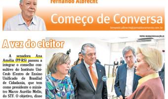 Jornal do Comércio: Fernando Albrecht - A vez do eleitor