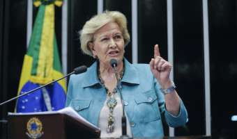 Ana Amélia critica veto da Venezuela à participação de Nelson Jobim como observador das eleições