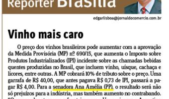 Jornal do Comércio: Edgar Lisboa - Vinho mais caro