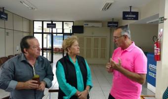 Prefeito de Santa Maria apresenta relatório das ações no começo de mandato à senadora