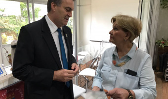 Reitor da UFSM apresenta prioridades à senadora Ana Amélia