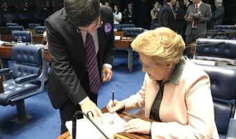Ana Amélia assina requerimento pedindo urgência na votação da PEC que acaba com o foro privilegiado