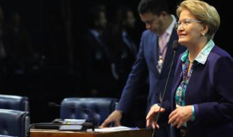 Ana Amélia critica transferência da Secretaria de Pesca para o Ministério da Indústria