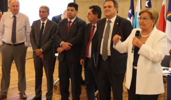 Em evento da CNM, Ana Amélia reforça compromisso com municipalismo