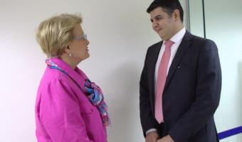 Senadora participa de inauguração da nova sede do Previc