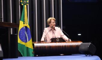 Ana Amélia critica protestos de partidários de Lula e elogia atuação da Polícia Federal