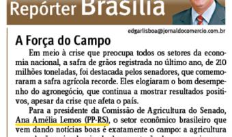 Jornal do Comércio: Edgar Lisboa - A Força do Campo