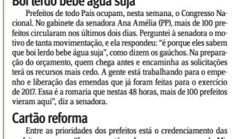 Jornal do Comércio: Edgar Lisboa - Boi lerdo bebe água suja