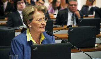 Ana Amélia defende voto impresso para garantir mais segurança nas eleições deste ano