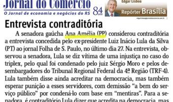 Jornal do Comércio: Edgar Lisboa - Entrevista contraditória
