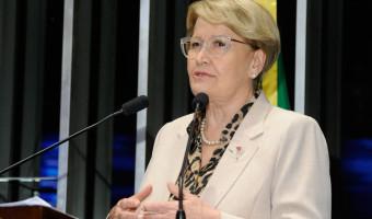 Manifestação em Bagé contra a ida de Lula ao município é destacada pela senadora na tribuna