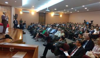 No Comando Militar do Sul, Ana Amélia fala sobre ética e desafios socioeconômicos para o Brasil