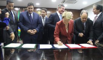 Legislativos do Brasil e Marrocos fecham acordo de cooperação