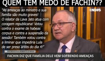 Ameaças ao ministro Fachin são muito graves, diz senadora