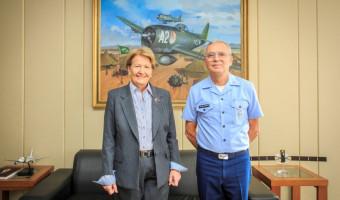Comando da Aeronáutica apoia projeto relatado pela senadora Ana Amélia