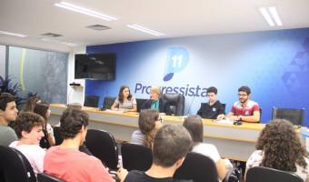 Estudantes de Campinas visitam Brasília para conhecer o trabalho de senadores e deputados