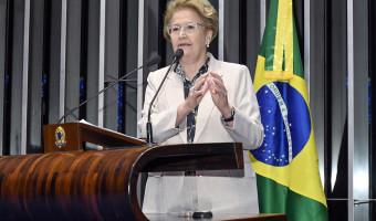 Ana Amélia: trabalhador brasileiro recebe em reais, não é justo que pague em dólares pelos combustíveis