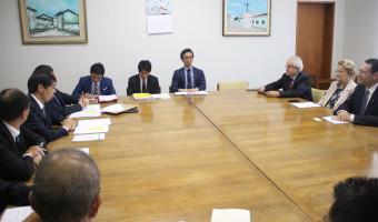 Parlamentares entregam pauta de interesse bilateral na Embaixada do Japão