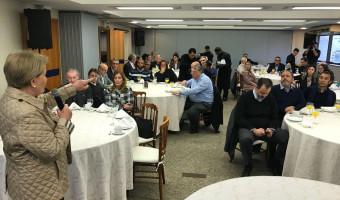 Ana Amélia fala sobre a ética e política a empreendedores do ramo de hospedagem alimentação