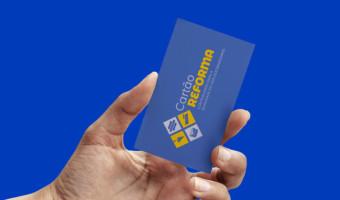 Publicado edital para contratação do Cartão Reforma