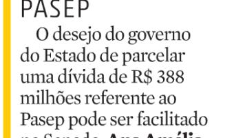 Zero Hora: RBS Brasília - PASEP