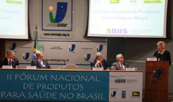 Senadora participa do 2º Fórum Nacional de Produtos para a Saúde no Brasil