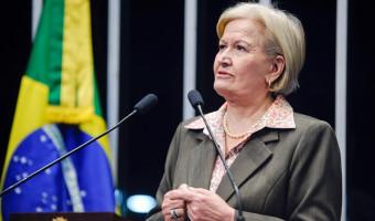 Ana Amélia pede cautela com 'pauta-bomba' e diz que é preciso responsabilidade para não agravar a crise