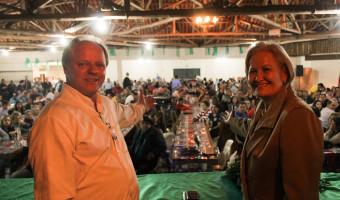 Encontro regional do PP reúne mais de 700 pessoas em São Sepé