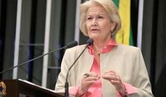 Momento delicado do país exige transparência e responsabilidade, destaca Ana Amélia