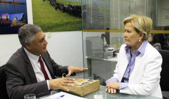 Duplicação da BR 116 e melhoria da qualidade da energia no campo são tratados em reunião no gabinete