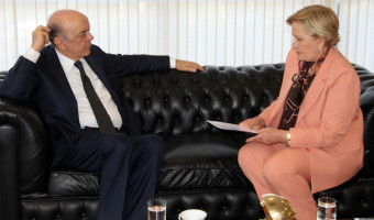 Integração com Argentina e Uruguai foi tema de reunião com chanceler José Serra