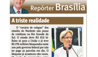 Jornal do Comércio: Edgar Lisboa - A triste realidade