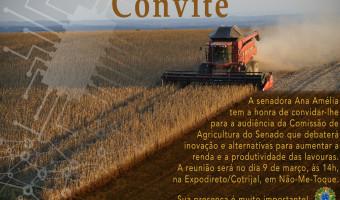 Comissão de Agricultura do Senado promove audiência na Expodireto/Cotrijal dia 9 de março