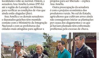 Zero Hora: Política+, interino Juliano Rodrigues - Vistoria no Feriadão