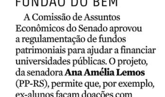Zero Hora: Brasília - Carolina Bahia - Fundo do Bem