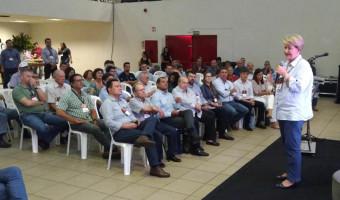 Em Campo Grande, Ana Amélia pede mais segurança para produtores rurais e suas famílias