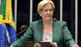 Ana Amélia está entre os três parlamentares que menos usam recursos públicos no Senado